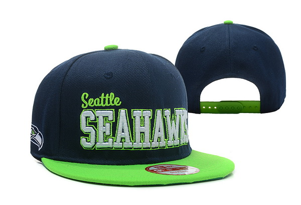 Seattle Seahawks Snapback Hat XDF-A